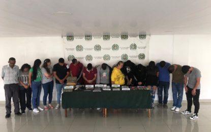 A la cárcel 13 de 'Los Sicodélicos' por tráfico de drogas sintéticas a nivel trasnacional