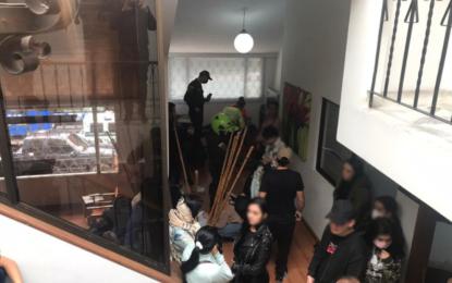 Judicializadas 40 personas que estaban de fiesta en un hostal del norte de Bogotá