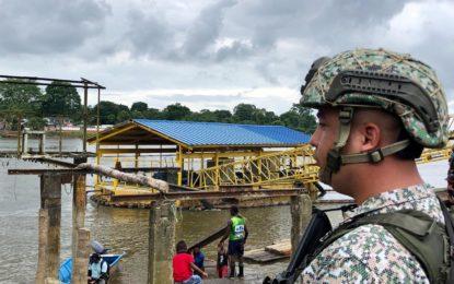 Dimar y Armada Nacional controlan el cierre de las fronteras marítimas y fluviales de Tumaco