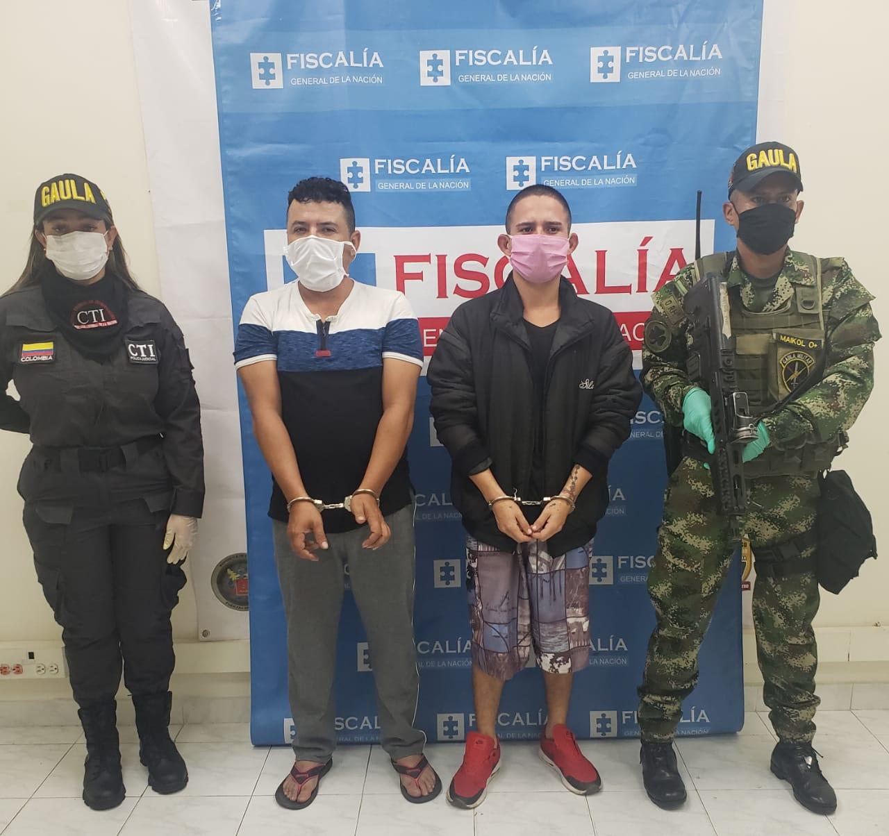 Amenazaban a su víctima con ponerle una bomba si no les daba tres millones de pesos