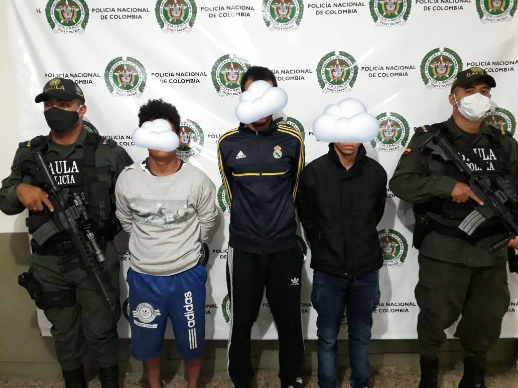 Extorsionistas le exigían 60 millones de pesos a su víctima