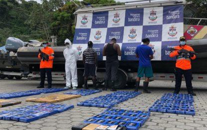 Armada de Colombia incautó cargamento de cocaína avaluado en 9 millones de dólares