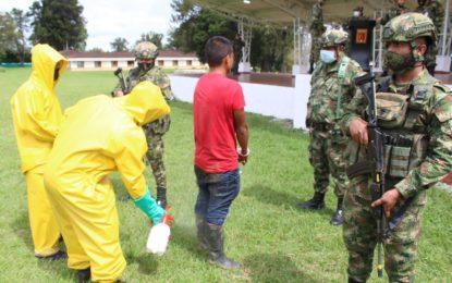 Capturado señalado de amenazas a la población en el Cauca