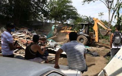 Desalojos en La Viga en Pance en medio de la cuarentena. Esta es la situación