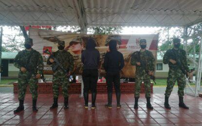 Pareja de guerrilleros del ELN se presentó voluntariamente a tropas del Ejército Nacional