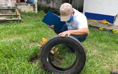 El Valle se une a la 'Semana de acción contra el mosquito transmisor del dengue' de la OPS