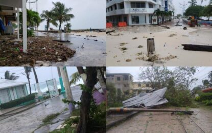 Gobierno declara situación de desastre en el archipiélago de San Andrés, Providencia y Santa Catalina