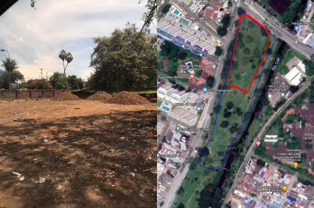 Denuncian construcción de viviendas sobre corredor ambiental en Cali