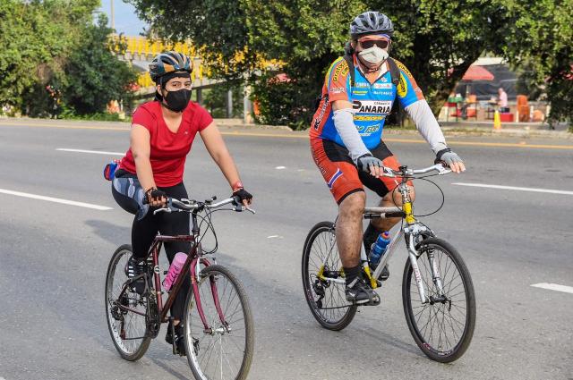 Ciclovía intermunicipal: 40 kilómetros de espacio para el deporte