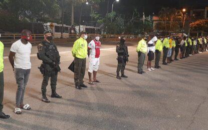 Capturan 30 personas pertenecientes a tres bandas, dedicadas al sicariato estructural en Cali