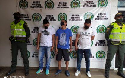 Capturados dos hermanos con 19 anotaciones por diferentes delitos