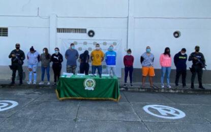 """Cae """"La Casona"""" banda delincuencial que extorsionaba a comerciantes de Tuluá"""