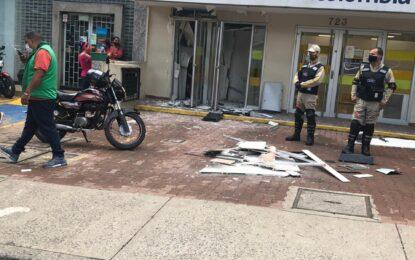 Hurto a cajero automático en Cali, fue frustrado por la Policía