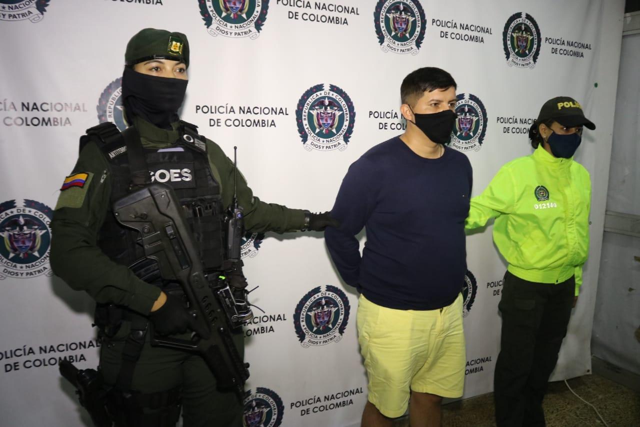 """Capturan a alias """"Chumado"""" uno de los más buscados en Ecuador por Homicidio"""