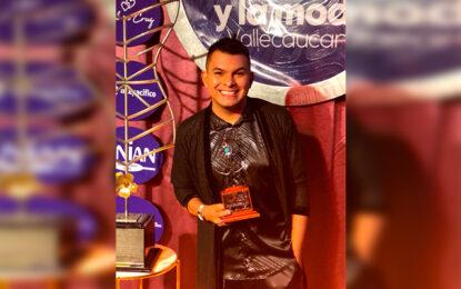 """""""Gracias por resaltar la labor que se hace"""": Alejandro Muñoz, mejor presentador regional de variedades del Valle"""