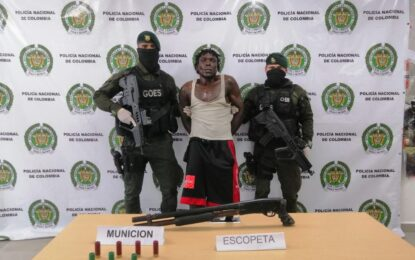 """Capturan a alias """"Osama"""" presunto cabecilla de la banda """"La Local"""" en Buenaventura"""