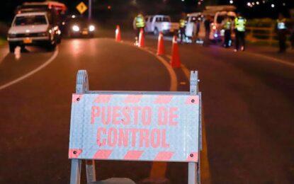 Extienden hasta el 1 de febrero las restricciones de movilidad nocturna entre municipios del Valle