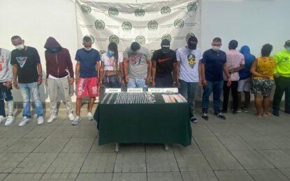 """Cae la banda """"Los Peligrosos"""" en Cali dedicada a la distribución de estupefacientes"""