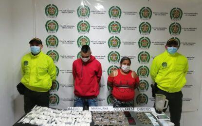 Judicializados madre e hijo por tráfico de estupefacientes en Caicedonia