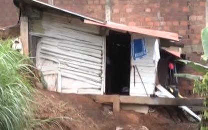Evacuación de viviendas en el barrio Siloe
