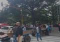Carretilleros de Cali protestan por sustitución de vehículos