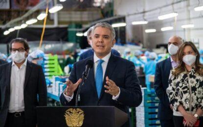 Presidente Duque anuncia nuevas medidas para impulsar la reactivación empresarial del país
