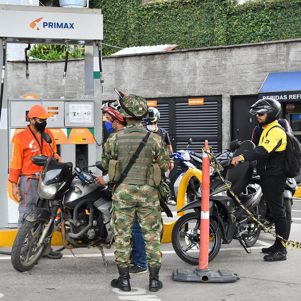 Paulatinamente se restablece el abastecimiento de gasolina en Cali