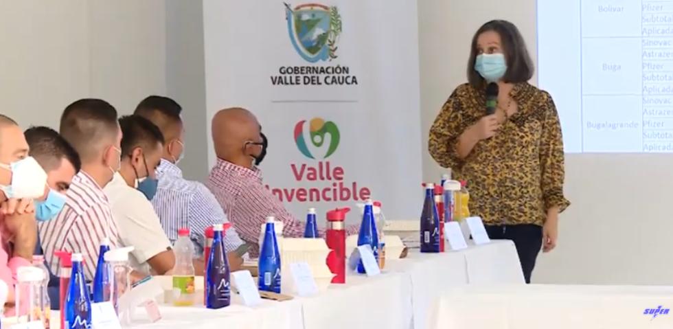 Primera reunión de Salvamento económico para el Valle del Cauca