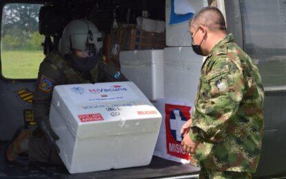 Continúa transporte de vacunas contra COVID-19 a municipios del Valle del Cauca
