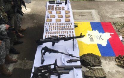 Judicializado presunto responsable de custodiar armamento de disidentes de las Farc en Nariño