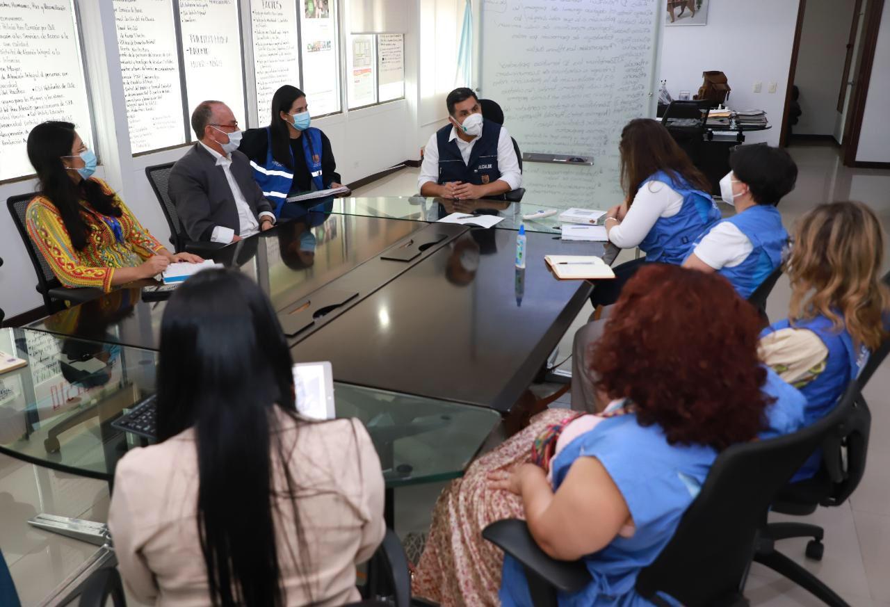 Visita de la ONU a Cali apoya situación de derechos humanos con jóvenes de la resistencia