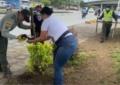 Jornada de limpieza en el puente de los mil días entre comunidad y policía