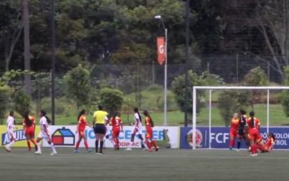 Selección Valle de fútbol femenino Sub 15 en semifinales