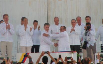 Implementación del Acuerdo de Paz se lograría en 26 años: Contraloría