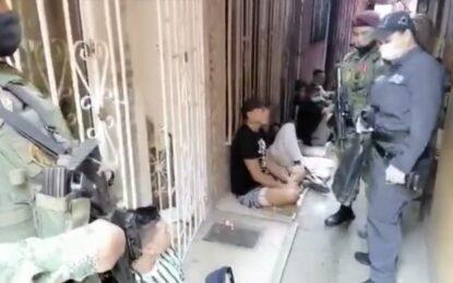 Cayeron 3 de la banda 'La 40' capturados con droga y $110 millones en efectivo