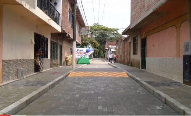 Alcaldía entregó 30 cuadras pavimentadas en Marroquín I y II
